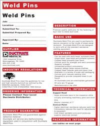 Ductmate Weld Pins.pdf