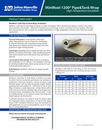 JM MinWool-1200 Pipe & Tank Wrap IND-415.pdf