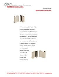 RPR Products P42 Stainless Steel Closed Seals Insul-Mate.pdf