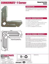 Ductmate CORNERMATE F Corner.pdf