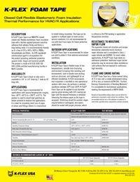 K-Flex Foam Tape.pdf