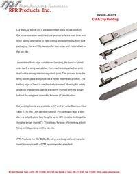 RPR Products P39 Cut & Clip Banding Insul-Mate.pdf