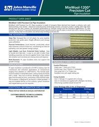 JM MinWool-1200 Precision Cut Pipe IND-422.pdf