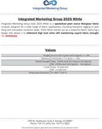IMG Integrated Marketing Group 2025 White Fiberglass Cloth 18oz.pdf