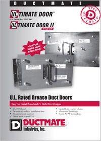 Ductmate Ultimate Door Ultimate Door II UL Rated Grease Duct Doors.pdf