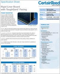 CT Rigid Liner Board with ToughGard Facing SpecSheet.pdf