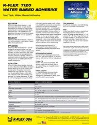 K-Flex 1120 Water Based Adhesive.pdf