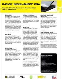 K-Flex Insul-Sheet with PSA.pdf