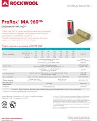 Rockwool ProRox MA 960 Enerwrap Data Sheet.pdf