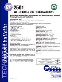 Design Polymerics DP2501 Water Based Duct Liner Adhesive.pdf