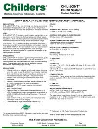 Childers Chil-Joint CP-70 Sealant.pdf