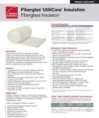 OC UtiliCore Insulation Product Data Sheet.pdf