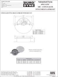 Duro Dyne Specline SRC Concealed Style Regulator Set.pdf