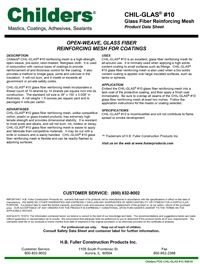 Childers Chil-Glas #10 Glass Fiber Reinforcing Mesh Fabric.pdf