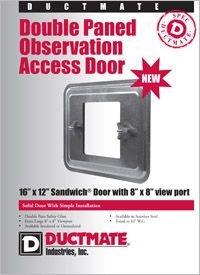 Ductmate Double Paned Observation Sandwich Access Door.pdf