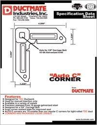 Ductmate AUTO C Corner.pdf