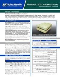 JM MinWool-1200 Industrial Board IND-402.pdf