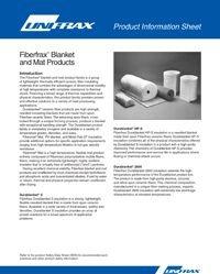 Unifrax Fiberfrax Durablanket S, Durablanket HP-S, Durablanket 2600.pdf