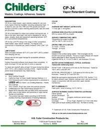 Childers CP-34 Vapor Retardant Coating.pdf