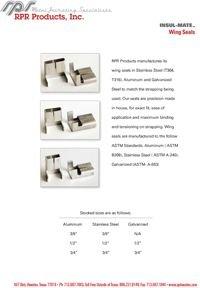 RPR Products P41 Wing Seals Insul-Mate.pdf
