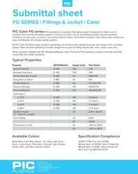 PIC Plastics PVC Color Fittings & Jacketing FG Series.pdf