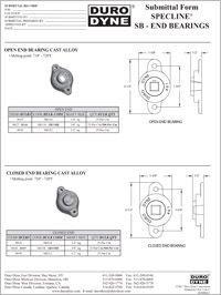 Duro Dyne Specline SB End Bearings.pdf