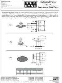 Duro Dyne TH IP Instrument Test Ports Submittal.pdf