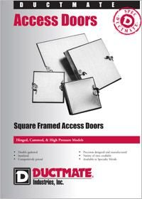 Ductmate Square Framed Access Doors.pdf