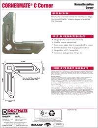 Ductmate CORNERMATE C Corner.pdf