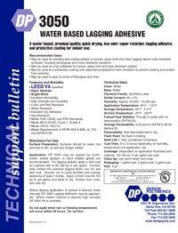 Design Polymerics DP3050 Water Based Lagging Adhesive.pdf