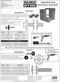 Duro Dyne Dyn-O-Loc D-Stud Submittal.pdf