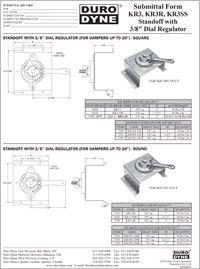 Duro Dyne KR3, KR3R, KR3SS Standoff with 3-8 Dial Regulator.pdf