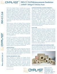 Dyplast ISO-C1 3.0 Polyisocyanurate Insulation Data Sheet.pdf