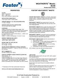 Foster 46-50 46-51 Weatherite Mastic.pdf
