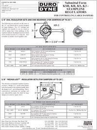 Duro Dyne KSR, KR, KS, K3 Stampline Regulators For Large Dampers.pdf