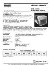 Sound Seal B-10 Lag QFA-3 Barricade Flexible Noise Barriers.pdf