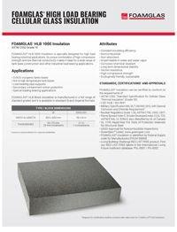 Foamglas HLB 1000 High Load Bearning Cellular Glass Insulation.pdf