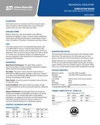JM Fabrication Board Data Sheet CI-126 .pdf