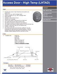 CL Ward High Temp Access Door LHTAD.pdf