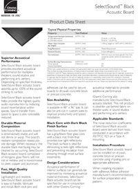 OC SelectSound Acoustic Board Data Sheet.pdf