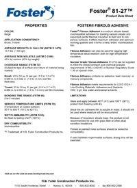 Foster 81-27 Fibrous Adhesive.pdf