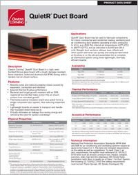 OC QuietR Duct Board Data Sheet.pdf