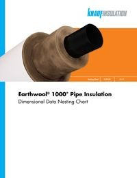 Knauf Earthwool 1000 Pipe Insulation Dimensional Data Nesting Chart.pdf
