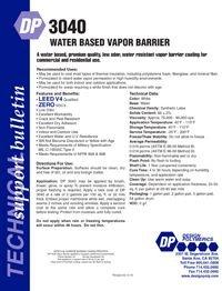 Design Polymerics DP3040 Water Based Vapor Barrier.pdf