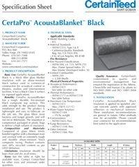 Certainteed CertaPro Acoustablanket Black.pdf
