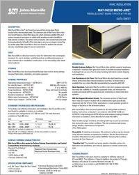 JM HVAC MicroAire Mat Faced Data Sheet.pdf