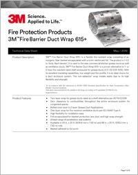 3M Fire Barrier Duct Wrap 615 Technical Data Sheet.pdf