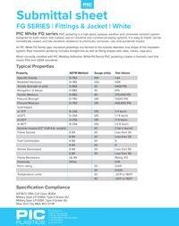 PIC Plastics PVC White Fittings & Jacketing FB Series.pdf