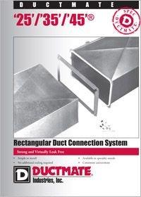 Ductmate DM 25, 35, 45 Rectangular Duct Connection System.pdf