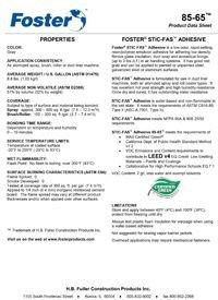 Foster 85-65 Stic-Fas Adhesive.pdf